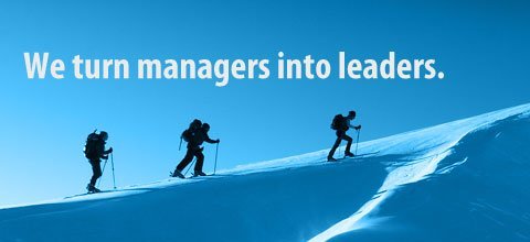 We turn managers into leaders