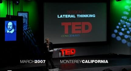 TED in 2007 with a presentation by Daniel Goleman