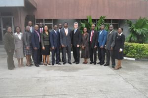 David Cory with group in Nigeria, MDs of UAC