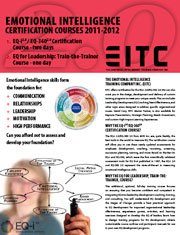 The EITC 2011 brochure (certification courses) is here