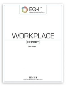 Sample report cover: EQ report