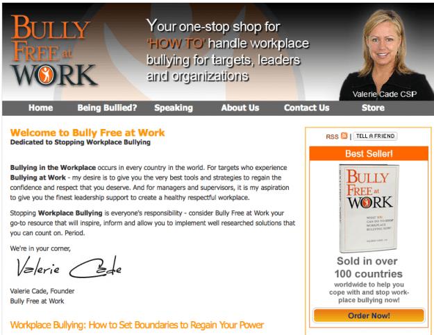 Bully Free at Work