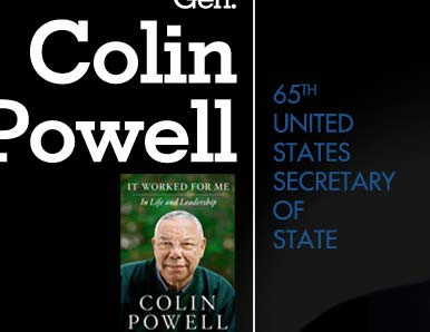 Colin Powell to speak at the Art of Leadership Conference
