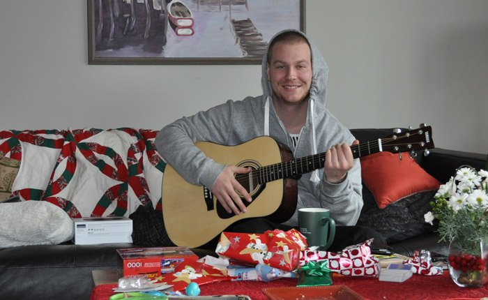 Ben with Guitar