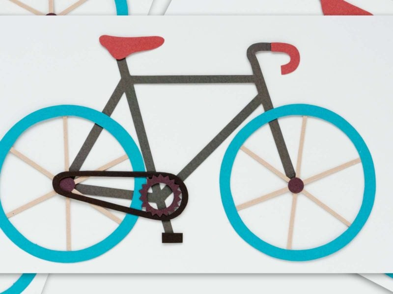 The backwards bicycle and neuroplasticity