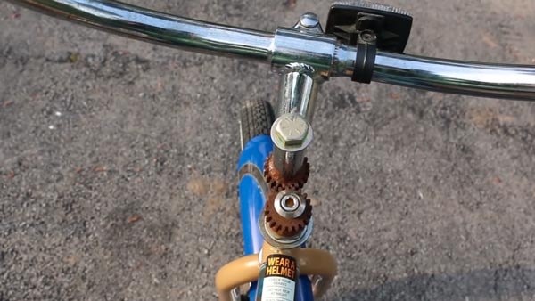 backwards bicycle handlebar gears