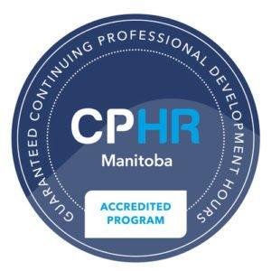 CPHR Accreditation seal HR Manitoba
