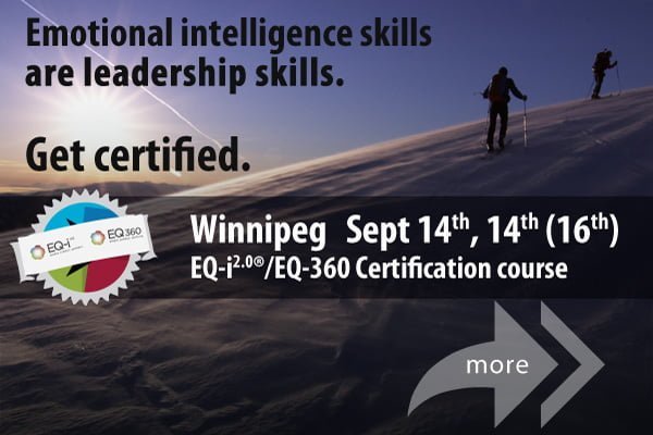 Get certified to use the EQ-i2.0 in Winnipeg in September