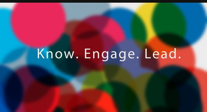 Know. Engage. Lead.