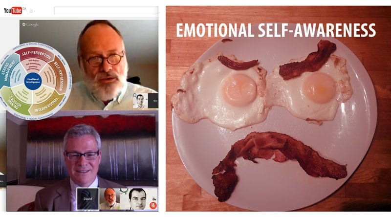 Emotional Self-awareness: a plate of eggs and bacon has no self awareness