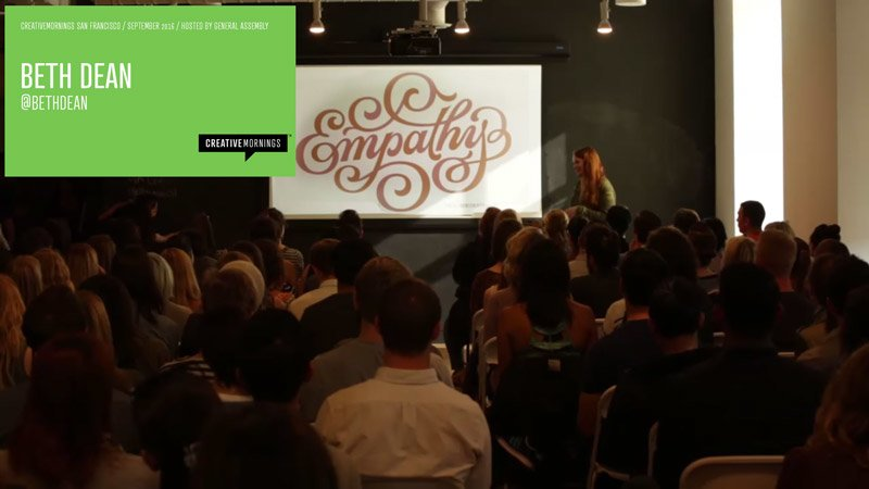 Empathy in Design talk by Beth Dean
