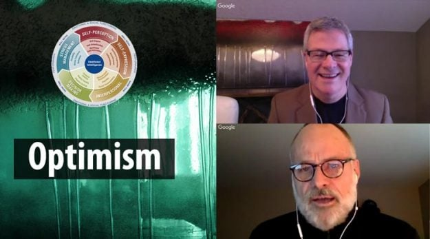 Optimism, episode 15 of EQ and You, with David Cory and Kim Cairns