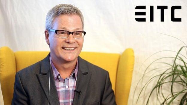David Cory talk on camera at the HRMA