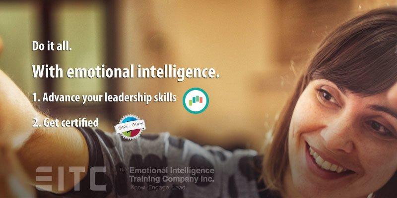 Emotional intelligence skills are leadership skills