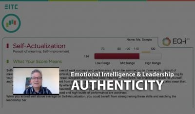 Emotional Intelligence and Leader Performance: Authenticity, webinar recap