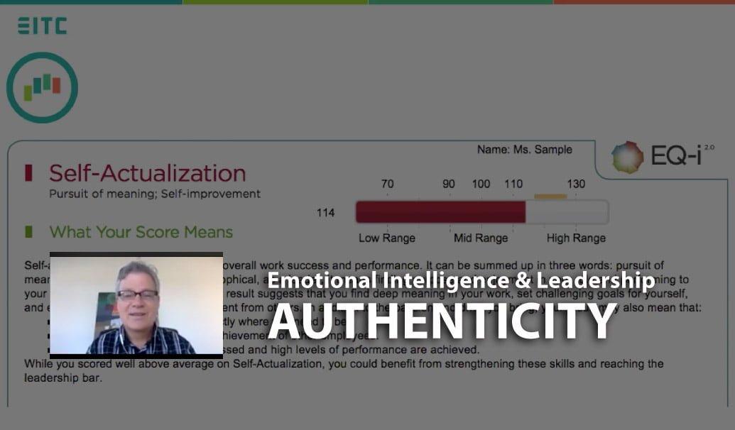 Emotional intelligence and leadership authenticity, webinar