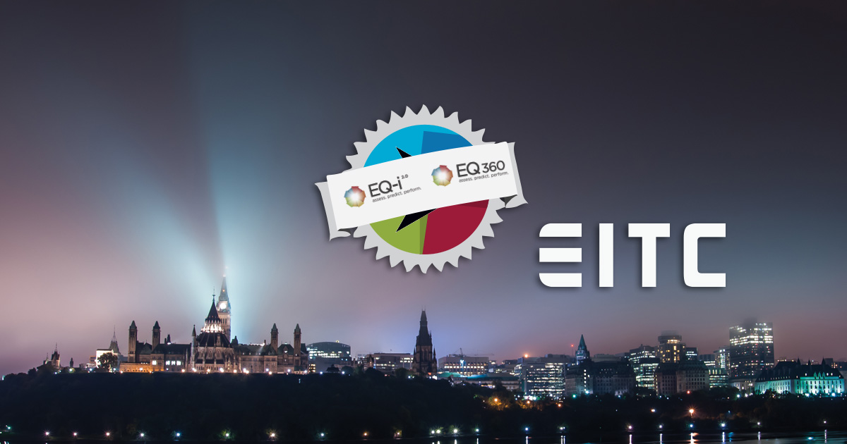 EQ-i 2.0 Certification EITC logo over the Ottawa skyline.