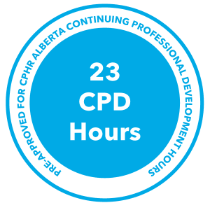23 Continuing Professional Development Hours, 23 CPD Hours.