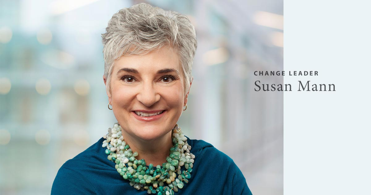 Susan Mann is an emotional intelligence change leader.