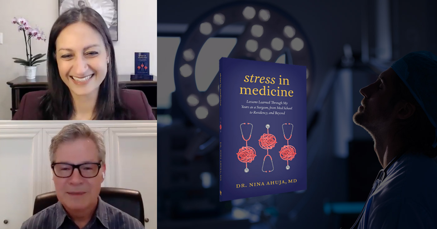 Dr. Nina Ahuja and David Cory talk stress management and other EI competencies in the context of practicing medicine and Nina's new book.