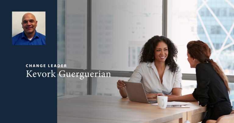 Kevork Guerguerian, EQ change leader, tells us about the power of coaching and optimism